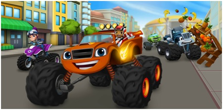Fiesta Blaze And The Monster Machines Fiestafacil