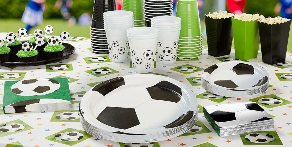 Decoraci n fiesta tem tica f tbol online env o en 24 for Accesorios decoracion online