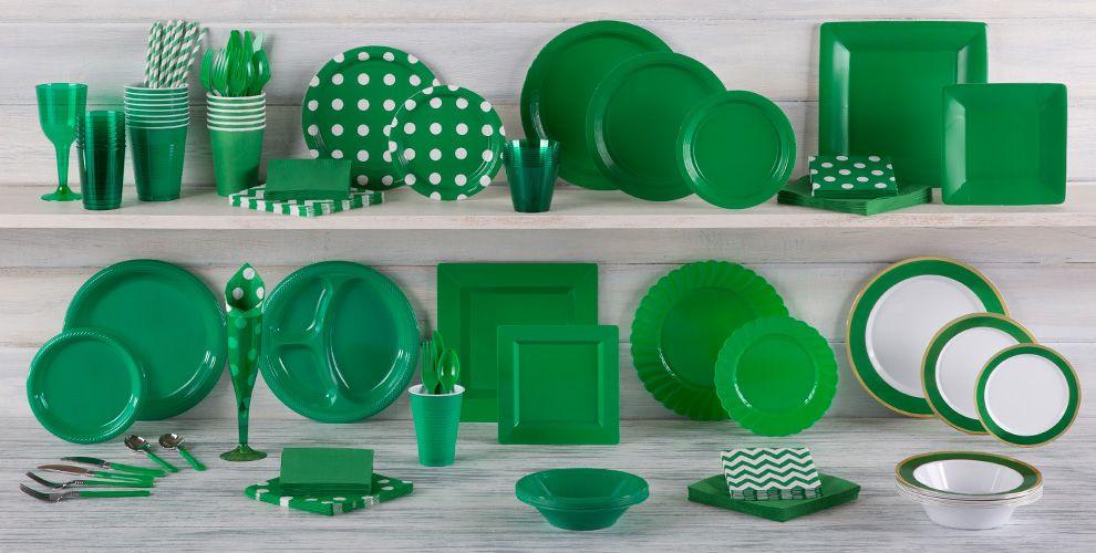 Decoraci n fiesta color verde online env o en 24 horas for Accesorios decoracion online