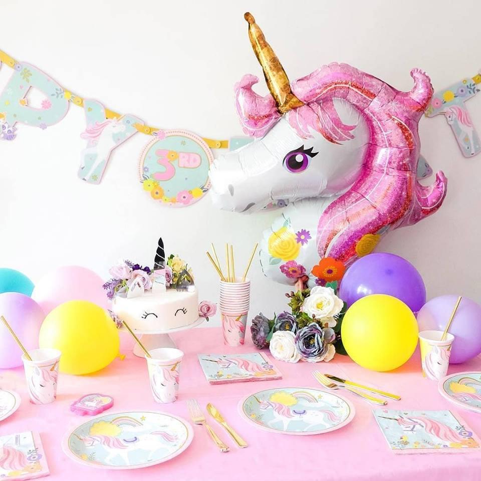 Decoracion Para Cumpleanos De Unicornio Ideas Originales Envio En