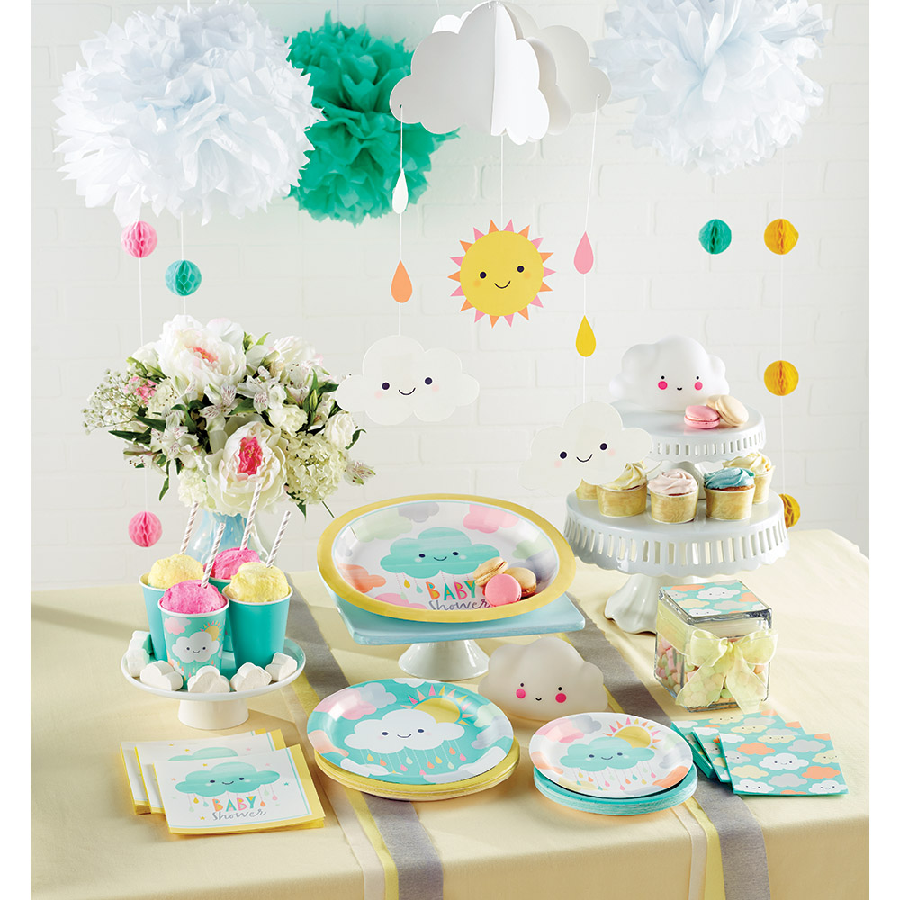 Decoracion De Nubes Para Baby Shower.Decoracion Para Fiesta Nubes Dulces Ideas Originales