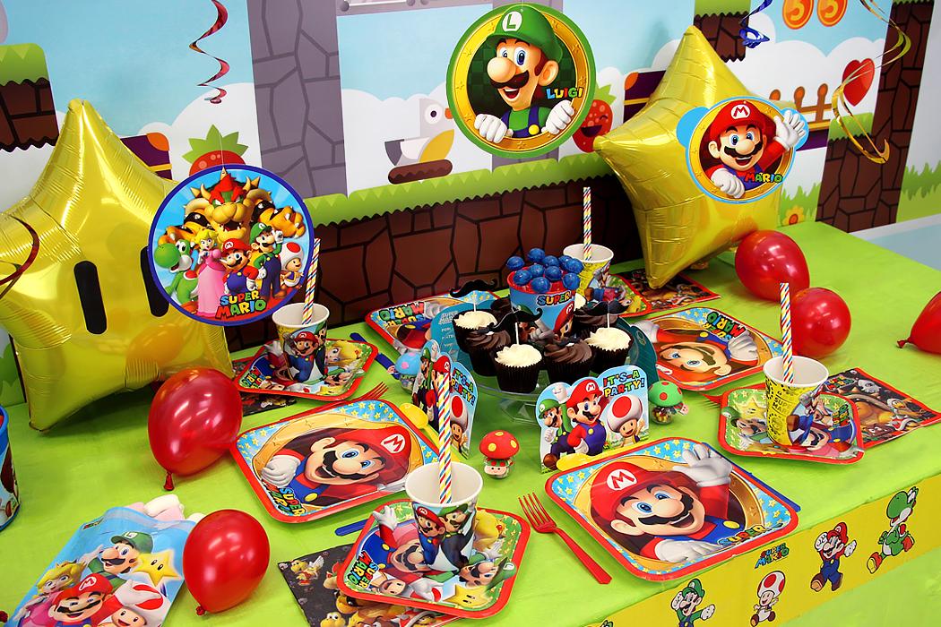 Organiza Una Fiesta Mario Bros Fiestafacilcom Artículos De