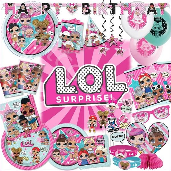 3e21e641a35 Ya llegaron a Fiestafacil las adorables LOL Surprise, las bolas sorpresa  más vendidas de este año, poco a poco iremos trayendo cositas para que  puedas ...