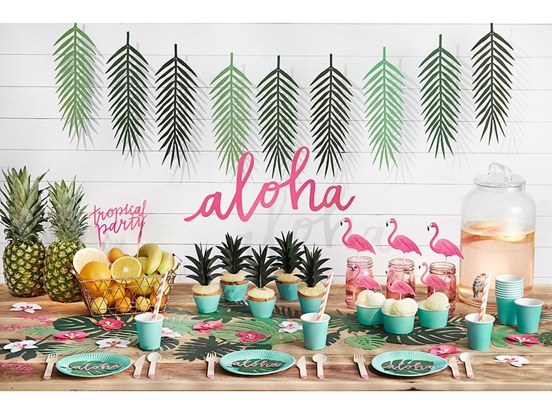 decoraci n fiesta tropical aloha online env o en 24 horas