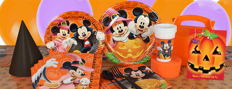 Decoración fiesta Halloween Mickey