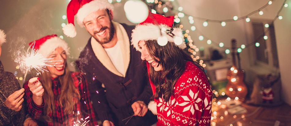 Decoraci n fiesta navidad online env o en 24 horas for Vajillas para navidad