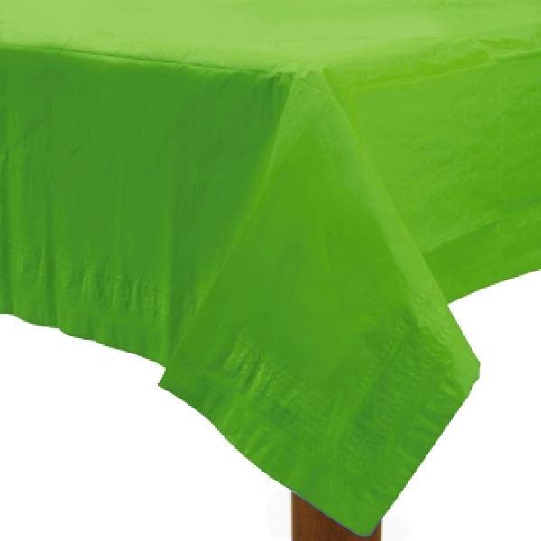 Imagen de Mantel verde claro de papel
