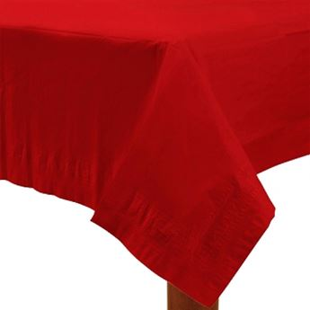 Imagens de Mantel rojo de papel