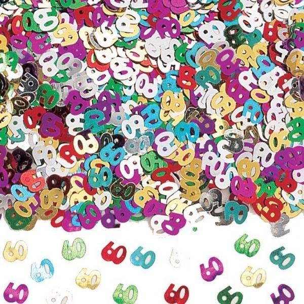 Imagens de Confeti 60 años brillante (14gr)