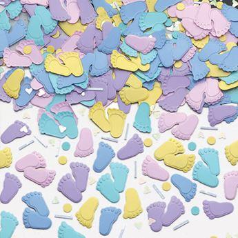 Imagen de Confeti bebe pies (14gr)