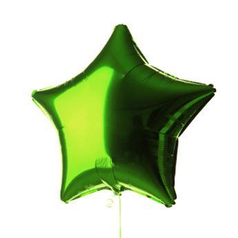 Imagen de Globo estrella verde claro