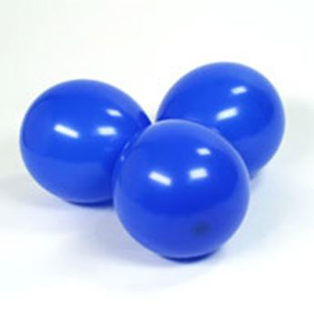 Imagen de Globos azul real pequeños (100)