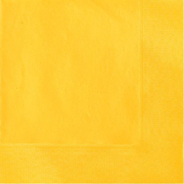 Imagens de Servilletas amarillas grandes (20)
