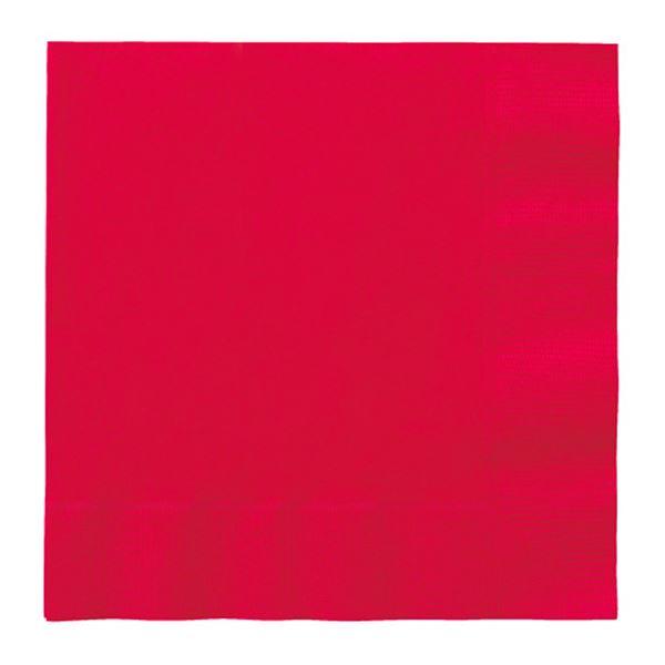 Imagen de Servilletas rojas grandes (20)