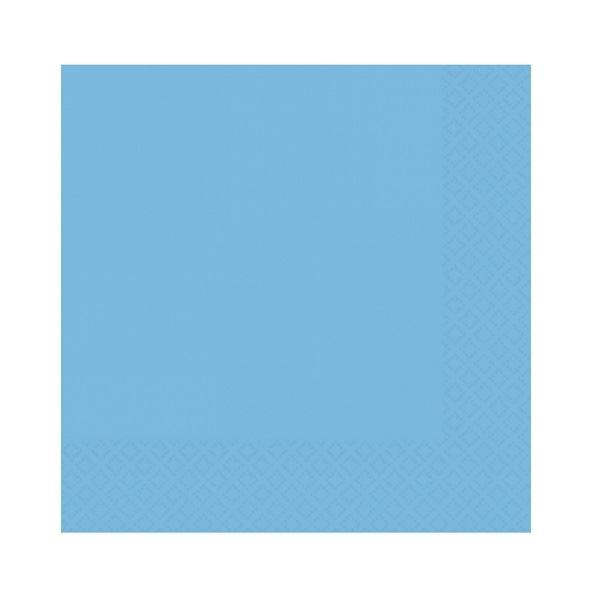 Imagen de Servilletas azul claro pequeñas (20)