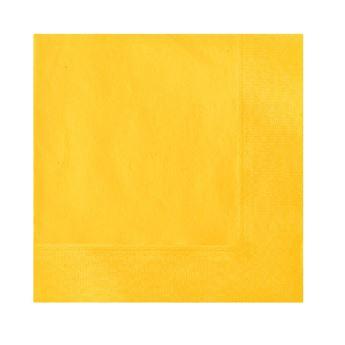 Imagen de Servilletas amarillas pequeñas (20)