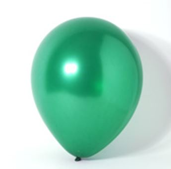 Imagens de Globos verde selva perlados pequeños (100)