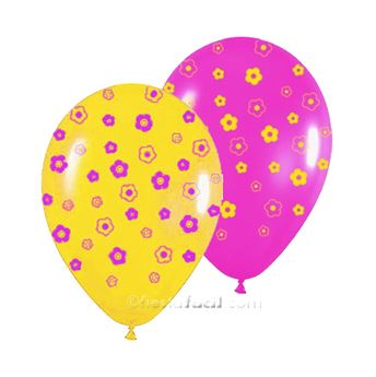 Picture of Globos flores (10)