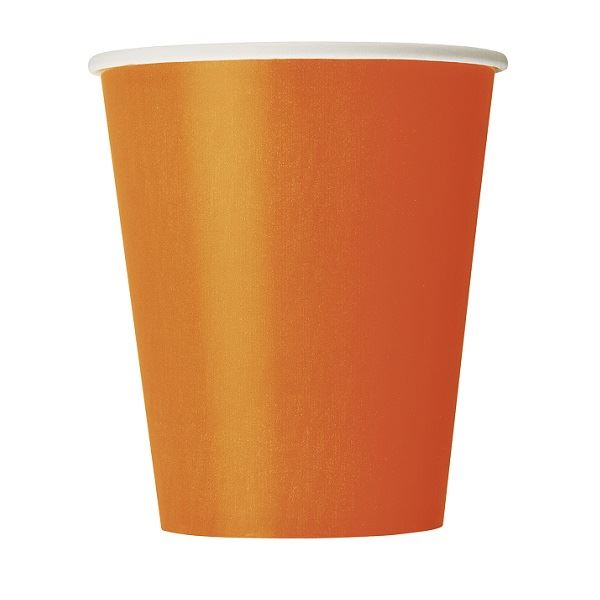 Picture of Vasos naranja de cartón (8)