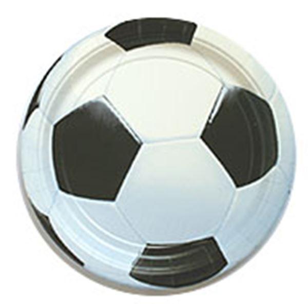 Imagen de Platos fútbol pequeños (8)