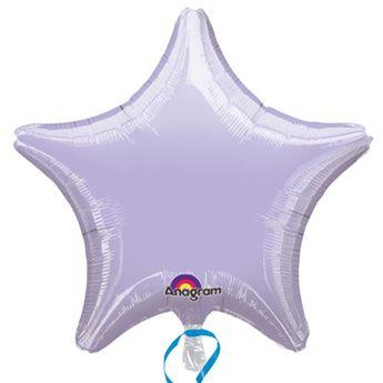 Imagen de Globo estrella lavanda