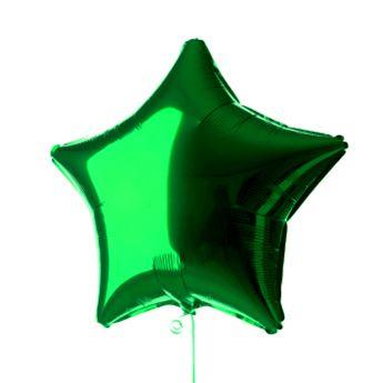 Imagen de Globo estrella verde