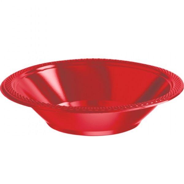 Picture of Boles rojo plástico (10)