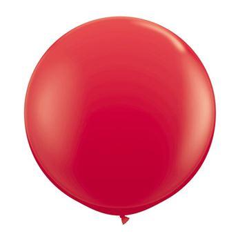 Imagen de Globo látex rojo 90cm