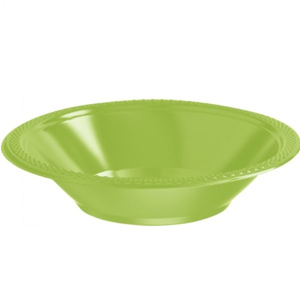 Picture of Boles verde claro plástico (10)