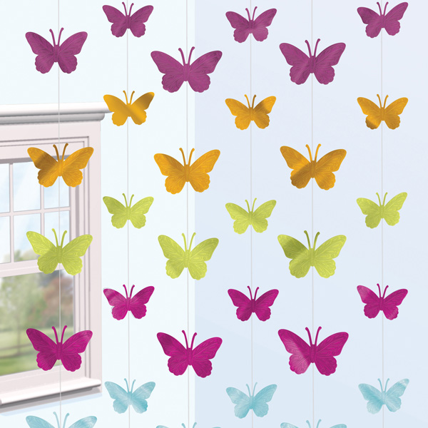 Compra tiras mariposas 6 y rec belo en 24h fiestafacil - Como hacer mariposas de papel para decorar paredes ...