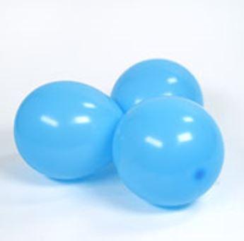 Imagens de Globos azul claro pequeños (100)