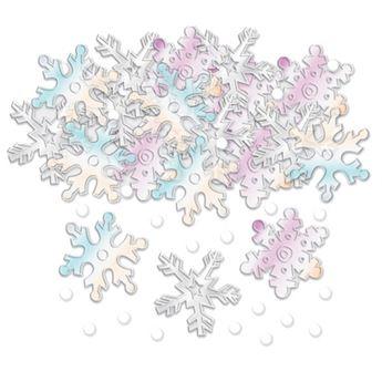 Imagen de Confeti nieve nacarado (14g)