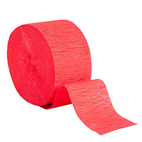 Imagen de Guirnalda roja crepé 25m