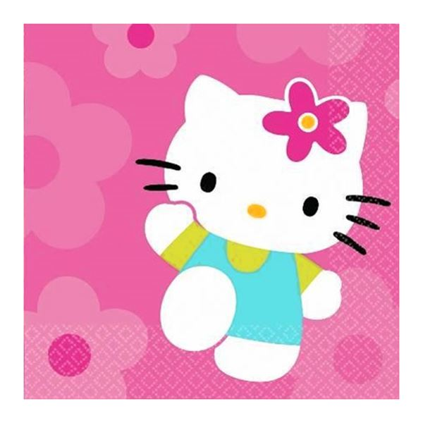 Picture of Servilletas Hello Kitty dulces (16)