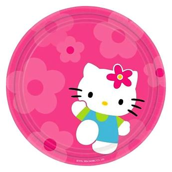 Picture of Platos Hello Kitty dulces grandes (8)