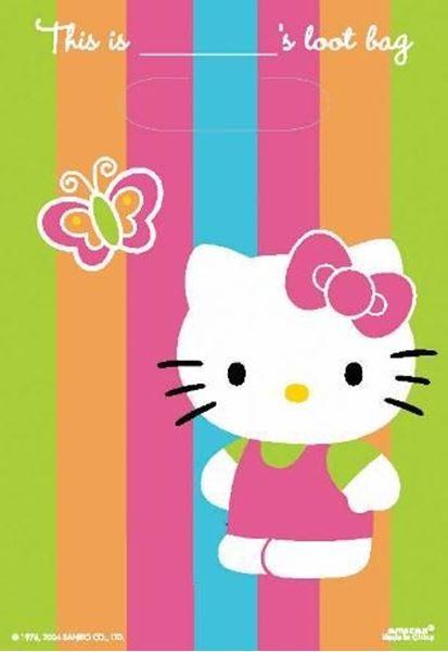 Imagen de Bolsas Hello Kitty dulces (8)