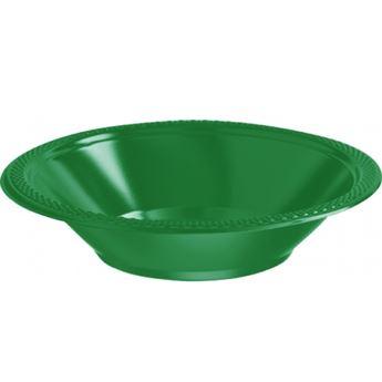 Imagen de Boles verde plástico (10)