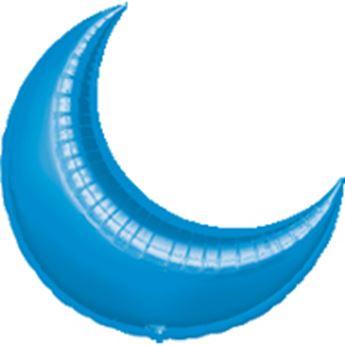Picture of Globo luna azul 89cm