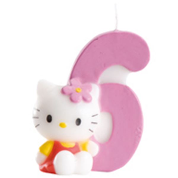 Imagens de Vela 6 Hello Kitty