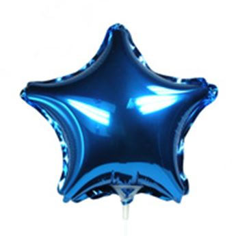 Imagen de Globo estrella azul mini