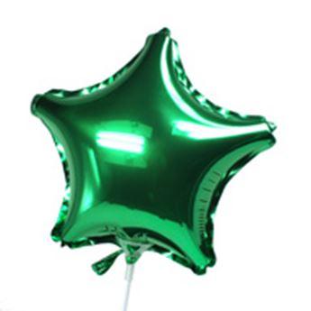 Picture of Globo estrella verde mini