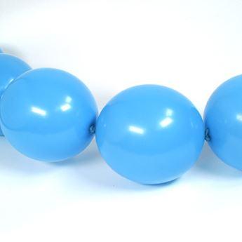 Picture of Globos Azul Pastel Fashion 15cm cadena LOL6-140  (50)