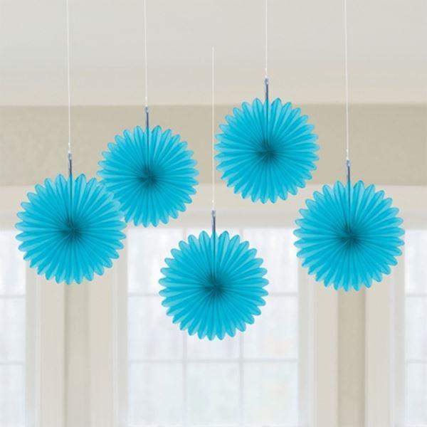 Imagen de Decorados abanicos azules (5)