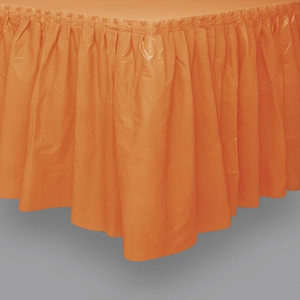 Picture of Falda de mesa naranja