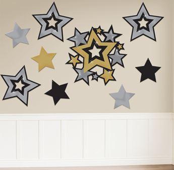 Imagen de Troquelados estrellas elegantes (30)