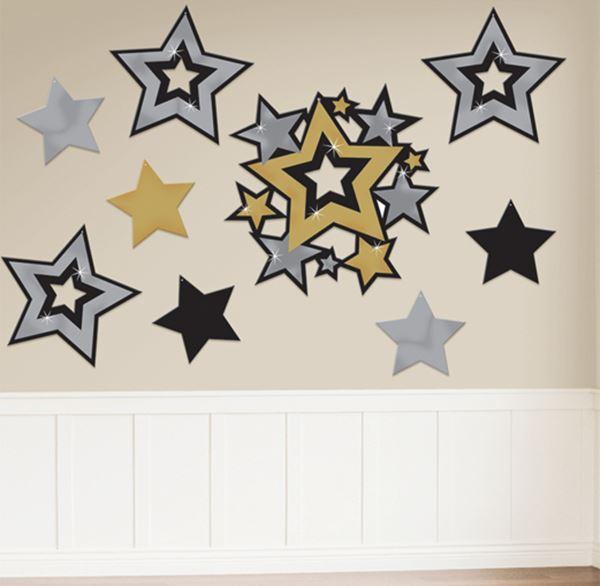 Troquelados Estrellas Elegantes 30