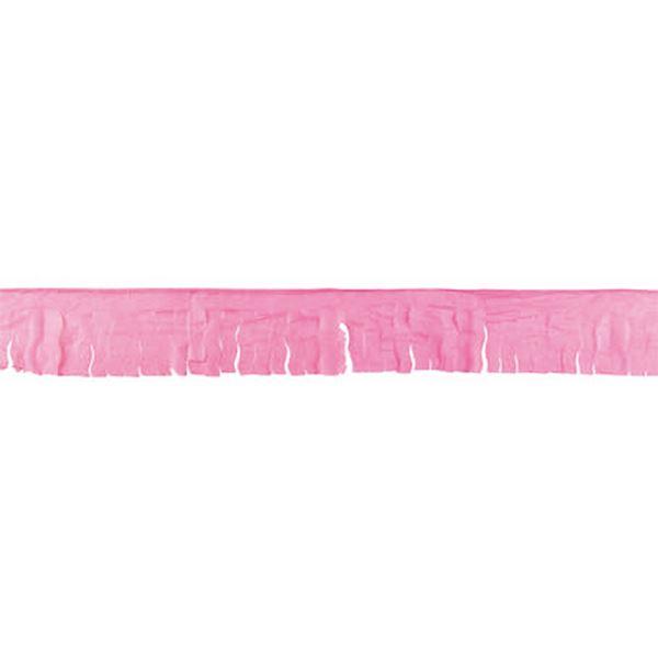 Picture of Guirnalda rosa flecos papel 50m