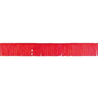 Picture of Guirnalda roja flecos papel