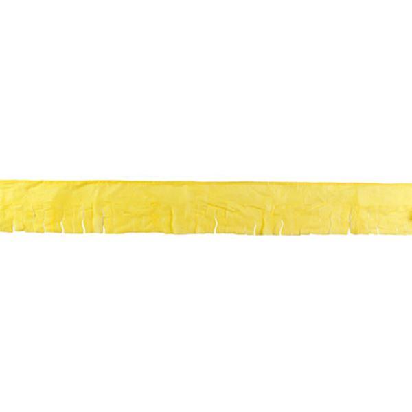 Picture of Guirnalda amarilla flecos papel 50m
