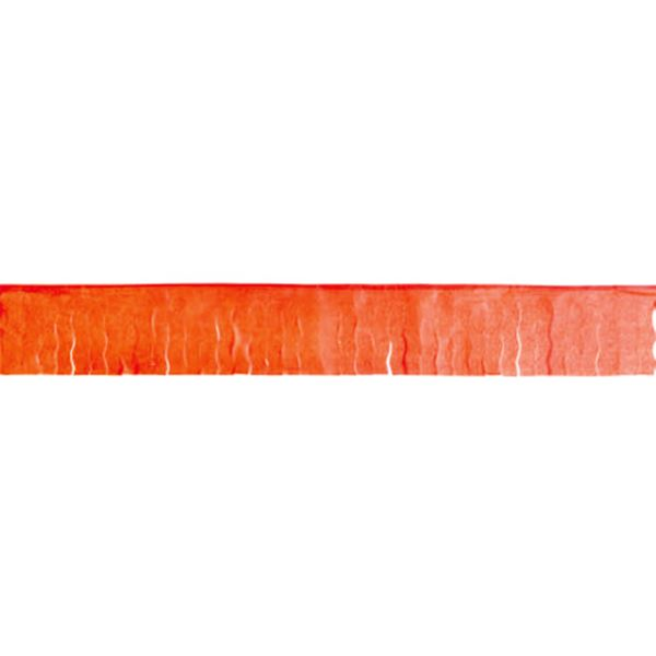 Imagen de Guirnalda naranja flecos papel 50m